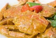 燕麦粉蒸螃蟹
