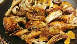 香煎山地鸡